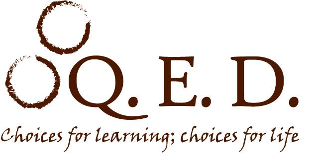 Q.E.D. logo